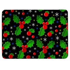 Xmas Magical Pattern Samsung Galaxy Tab 7  P1000 Flip Case by Valentinaart
