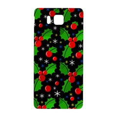 Xmas Magical Pattern Samsung Galaxy Alpha Hardshell Back Case by Valentinaart