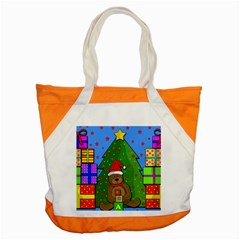Xmas Gifts Accent Tote Bag by Valentinaart