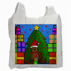 Xmas Gifts Recycle Bag (one Side) by Valentinaart