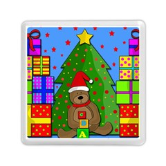 Xmas Gifts Memory Card Reader (square)  by Valentinaart