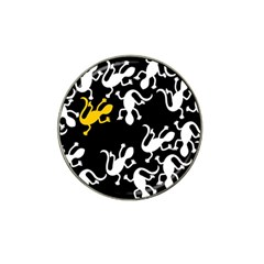 Yellow Lizard Pattern Hat Clip Ball Marker (10 Pack) by Valentinaart