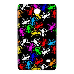 Colorful Lizards Pattern Samsung Galaxy Tab 4 (8 ) Hardshell Case