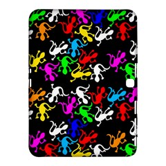 Colorful Lizards Pattern Samsung Galaxy Tab 4 (10 1 ) Hardshell Case  by Valentinaart