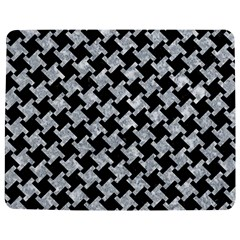 Houndstooth2 Black Marble & Gray Marble Jigsaw Puzzle Photo Stand (rectangular) by trendistuff