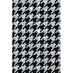 Houndstooth1 Black Marble & Gray Marble 5 5  X 8 5  Notebook by trendistuff
