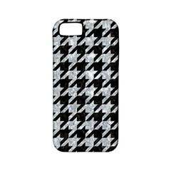 Houndstooth1 Black Marble & Gray Marble Apple Iphone 5 Classic Hardshell Case (pc+silicone) by trendistuff