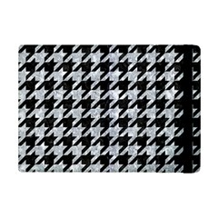Houndstooth1 Black Marble & Gray Marble Apple Ipad Mini 2 Flip Case by trendistuff