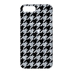 Houndstooth1 Black Marble & Gray Marble Apple Iphone 7 Plus Hardshell Case by trendistuff