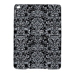 Damask2 Black Marble & Gray Marble Apple Ipad Air 2 Hardshell Case by trendistuff