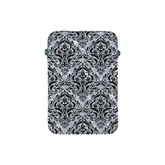 Damask1 Black Marble & Gray Marble (r) Apple Ipad Mini Protective Soft Case by trendistuff