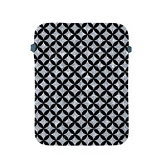 Circles3 Black Marble & Gray Marble (r) Apple Ipad 2/3/4 Protective Soft Case by trendistuff