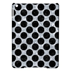 Circles2 Black Marble & Gray Marble (r) Apple Ipad Air Hardshell Case by trendistuff