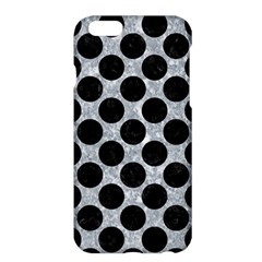 Circles2 Black Marble & Gray Marble (r) Apple Iphone 6 Plus/6s Plus Hardshell Case by trendistuff