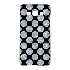 Circles2 Black Marble & Gray Marble Samsung Galaxy A5 Hardshell Case  by trendistuff