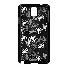 Gray Lizards Samsung Galaxy Note 3 Neo Hardshell Case (black)