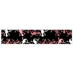 Decorative Lizards Pattern Flano Scarf (small) by Valentinaart