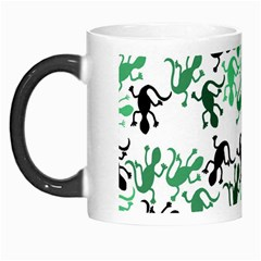 Lizards Pattern   Green Morph Mugs by Valentinaart