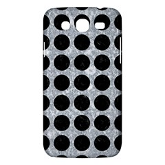 Circles1 Black Marble & Gray Marble (r) Samsung Galaxy Mega 5 8 I9152 Hardshell Case  by trendistuff