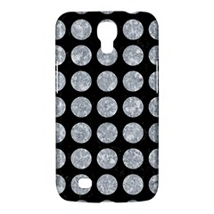 Circles1 Black Marble & Gray Marble Samsung Galaxy Mega 6 3  I9200 Hardshell Case by trendistuff