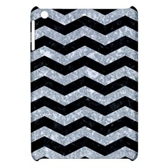 Chevron3 Black Marble & Gray Marble Apple Ipad Mini Hardshell Case