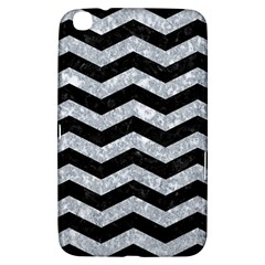 Chevron3 Black Marble & Gray Marble Samsung Galaxy Tab 3 (8 ) T3100 Hardshell Case  by trendistuff