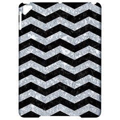 Chevron3 Black Marble & Gray Marble Apple Ipad Pro 9 7   Hardshell Case by trendistuff