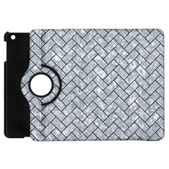 Brick2 Black Marble & Gray Marble (r) Apple Ipad Mini Flip 360 Case by trendistuff