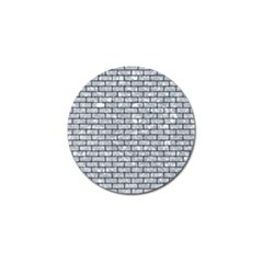Brick1 Black Marble & Gray Marble (r) Golf Ball Marker by trendistuff
