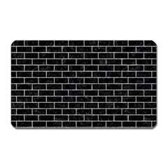Brick1 Black Marble & Gray Marble Magnet (rectangular) by trendistuff