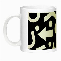 Right Direction Night Luminous Mugs by Valentinaart