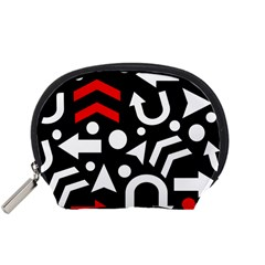 Right Direction   Red Accessory Pouches (small)