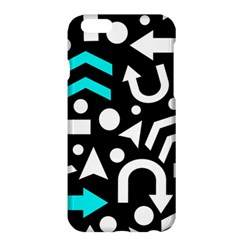 Right Direction   Cyan Apple Iphone 6 Plus/6s Plus Hardshell Case