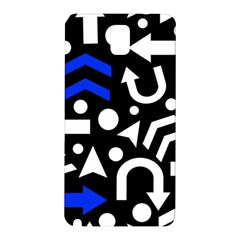 Right Direction   Blue  Samsung Galaxy Note 3 N9005 Hardshell Back Case by Valentinaart