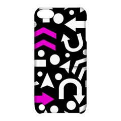 Right Direction   Magenta Apple Ipod Touch 5 Hardshell Case With Stand by Valentinaart