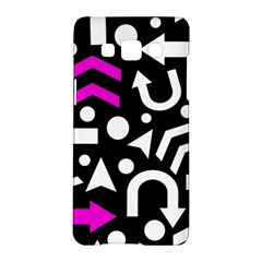 Right Direction   Magenta Samsung Galaxy A5 Hardshell Case  by Valentinaart