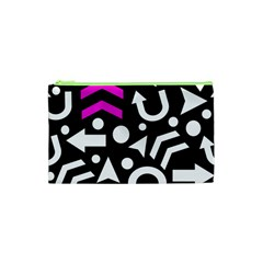 Right Direction   Magenta Cosmetic Bag (xs) by Valentinaart