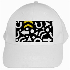 Right Direction   Yellow White Cap by Valentinaart