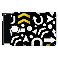 Right Direction   Yellow Apple Ipad 2 Flip 360 Case by Valentinaart