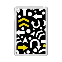 Right Direction   Yellow Ipad Mini 2 Enamel Coated Cases by Valentinaart