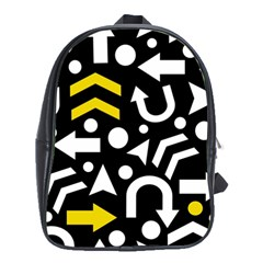 Right Direction   Yellow School Bags (xl)