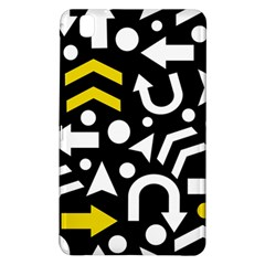 Right Direction   Yellow Samsung Galaxy Tab Pro 8 4 Hardshell Case by Valentinaart