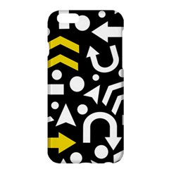 Right Direction   Yellow Apple Iphone 6 Plus/6s Plus Hardshell Case by Valentinaart