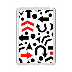 Red Right Direction Ipad Mini 2 Enamel Coated Cases by Valentinaart