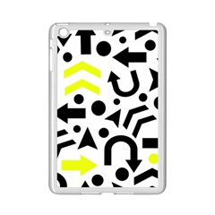 Yellow Right Direction  Ipad Mini 2 Enamel Coated Cases by Valentinaart