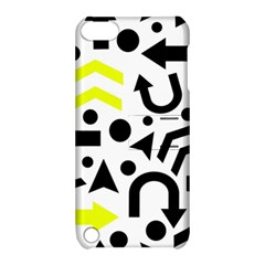 Yellow Right Direction  Apple Ipod Touch 5 Hardshell Case With Stand by Valentinaart