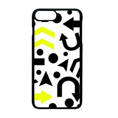 Yellow Right Direction  Apple Iphone 7 Plus Seamless Case (black) by Valentinaart