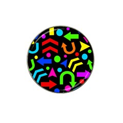 Right Direction   Colorful Hat Clip Ball Marker (10 Pack) by Valentinaart