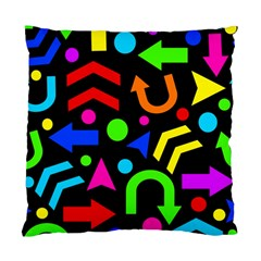 Right Direction   Colorful Standard Cushion Case (two Sides) by Valentinaart
