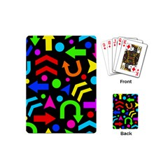 Right Direction   Colorful Playing Cards (mini)